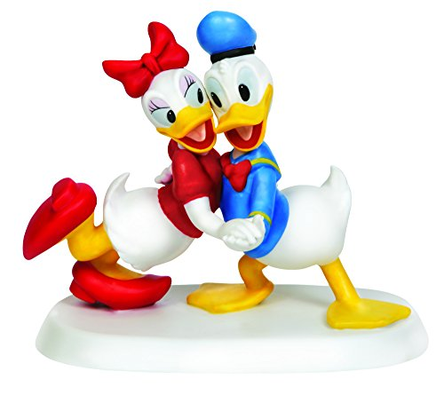 Precious Moments Disney Showcase Collection, ich will nur Dance With You, Bisque Porzellan Figur, 143707 (Biskuit-figur)