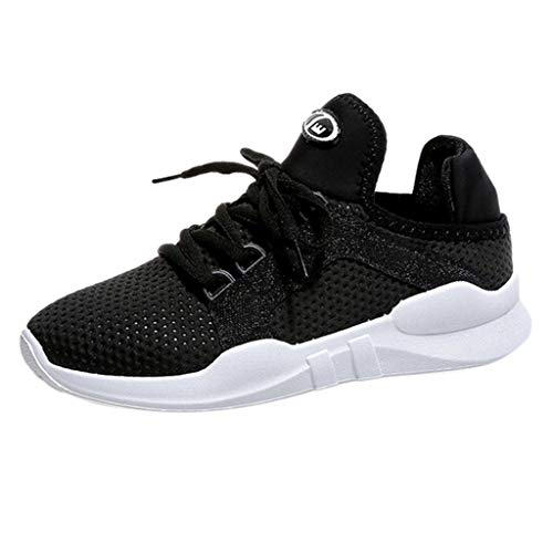 Bazhahei scarpe lace-up donna sneakers eleganti,ragazze casual traspirante soft scarpe da corsa corsa camminata calcetto scarpette stivali con sportive