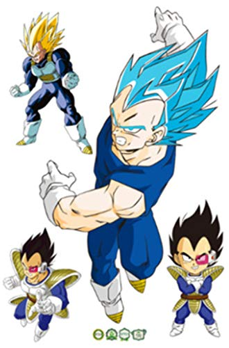 JUNMAO Dragon Ball Z Son Goku Wandaufkleber/Wandbild Aufkleber/Wand Poster/Wandgemälde (B718)