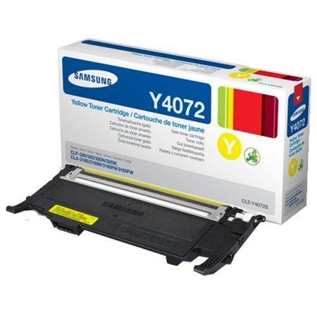 CLT-C4072S/ELS Samsung Laser Toner-Kassette (für CLP-320, CLP-325 und CLX-3185), Cyan