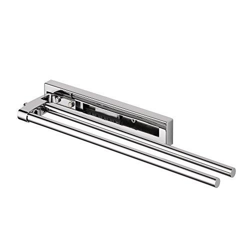 Avenarius Handtuchhalter zweiarmig, 400-570 mm ausziehbar, verchromt - Serie Universal