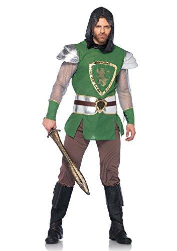 Leg Avenue 85320 - Queen's Guard Kostüm Set, 4-teilig, Größe XL, grün