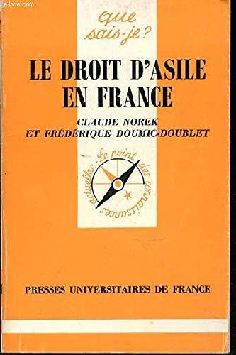 Le Droit d'asile en France