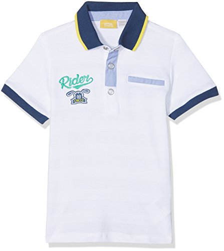 Chicco Chicco Baby-Jungen Poloshirt 09033405000000 Weiß (Bianco 033) 92 cm