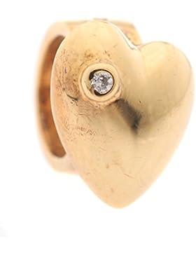 Story Unisex-Charm Vergoldet 925 Silber - 5208130