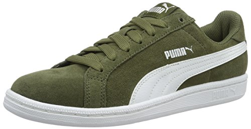 puma-puma-smash-sd-unisex-adults-low-top-sneakers-green-burnt-olive-puma-white-08-9-uk-43-eu