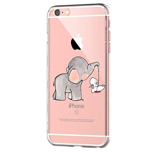 Funda iPhone 6/6S Suave Gel Silicona TPU Protectora Carcasa Antideslizante Ultra Delgado...