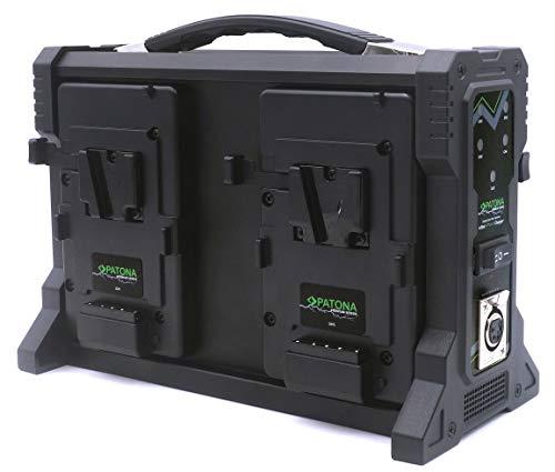 Patona - Cargador baterías V-Mount 4 Canales Cable