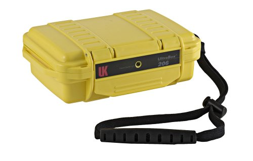 Underwater Kinetics UltraBox, 206 UK 206 UltraBox, Empty, Yellow