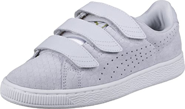 Puma Basket Strap ExoticSkin W Schuhe blue