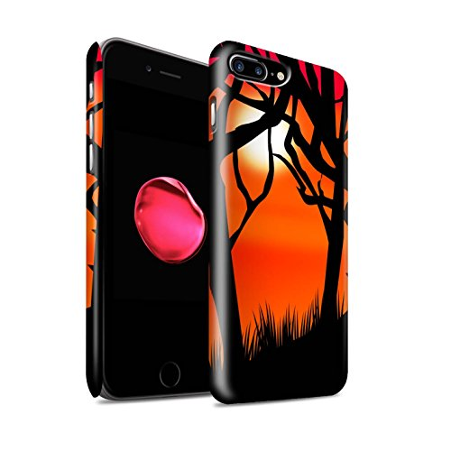 STUFF4 Matte Snap-On Hülle / Case für Apple iPhone SE / Gruselige Schloss Muster / Halloween Szene Kollektion Gruseligen Wald