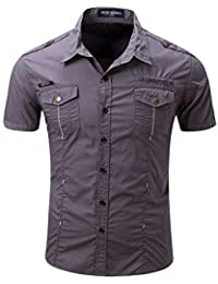 Ropa Amazon Camisas Nono Casual Camisas es TXYT4