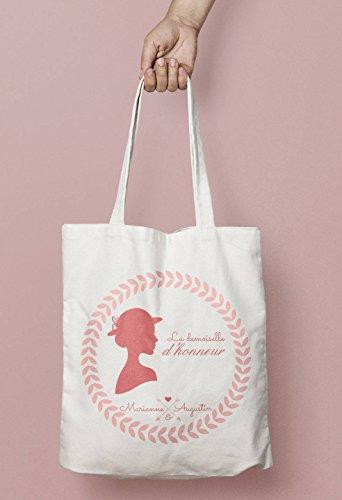Personalisierte Tragetasche für Hochzeit, Brautjungfer, Schmuck, romantische Tote Bag Tote Bag Tote Bag Tote Bag Tote Bag Zeuness