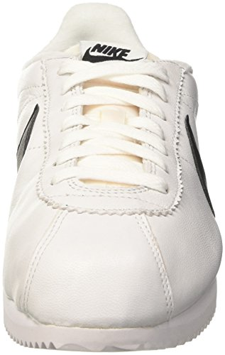 Nike Mens Classic Cortez Prem Running Shoes, Bianco, 44 ​​eu Bianco / Nero