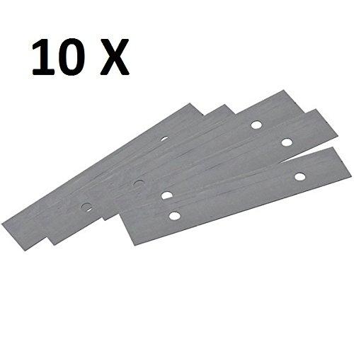 50 x Glasschaber Klingen 90 mm breit Glasschaberklingen für Art. 500121,10 x 5St