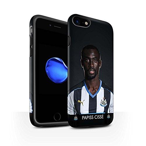 Offiziell Newcastle United FC Hülle / Matte Harten Stoßfest Case für Apple iPhone 7 / De Jong Muster / NUFC Fussballspieler 15/16 Kollektion Cissé