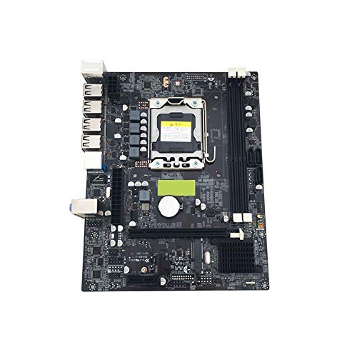 Dušial X79 LGA 1356 Pin Desktop Base Plate RECC DDR3 Server CPU Motherboard Compatible for Intel -