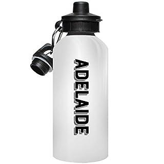 MugMax D4 Aluminum Water Bottle Personlised Ariba White 600ml / 20 oz