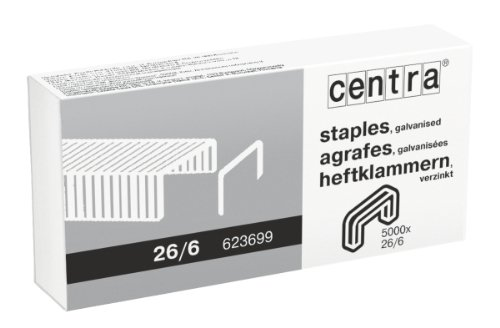 centra-26-6mm-galvanised-staples-box-of-5000