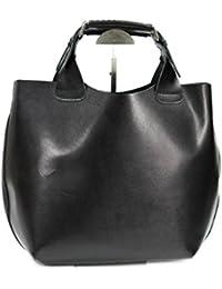 Belli , shoppers femme - Noir - Noir, 41x32x15 (B x H x T) EU