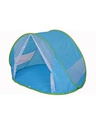 Tente de plage BÉBÉ PROTECTION UV 50+ MAXIMAL avec MOUSTIQUAIRE, parasol, pliable baby enfant famille abri parasol soleil montage automatique Pop Up Instantané