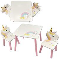 TW24 B-Ware Kindersitzgruppe Einhorn - Sitzgruppe - Kindertisch mit 2 Stühlen - Spieltisch preisvergleich bei kinderzimmerdekopreise.eu