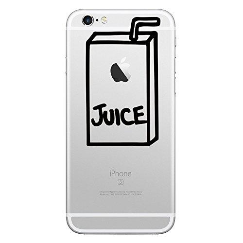 Sticker kreative pvc-dekoration aufkleber saft zwei für Apple iPhone 6 Plus,iPhone 6,iPhone X,iPhone 8 Plus,iPhone 5c,iPhone 7,iPhone 6s Plus,iPhone 7 Plus,iPhone 8,iPhone 6s,iPhone SE,iPhone 5,iPhone 5s