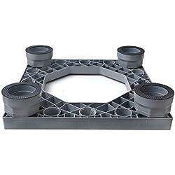 Base De Machine à Laver à Tambour/Universelle/Fixe/Anti-Vibration/Machine à Laver Multifonction/Gros éLectroméNager/SèChe-Linge/Pas D'Installation/Support pour Climatiseur