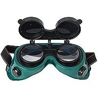 DDG EDMMS Schweißerbrillen Schutzbrille vor Spiegeln - zum Schweißen, Schweißen, Taschenlampe, Löten und Metall grün Haushaltswaren Schneiden