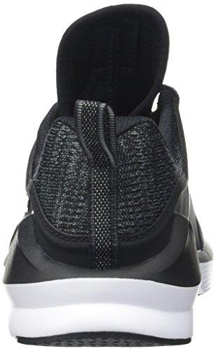 Puma Fierce Lace Knit Wn's, Scarpe Sportive Indoor Donna Nero (Puma Black-puma White 01)