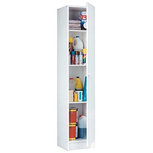 HABITMOBEL Mueble Multiuso Blanco 180 x 37 x 37 cm