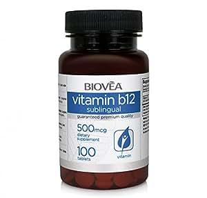 VITAMINE B12 Sublinguale 500mcg 100 Comprimés