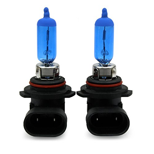 Jurmann Trade GmbH® 2x Stück XENON OPTIK Halogen Lampen KALT WEISS Super/White Autolampen (2x HB4 100W)