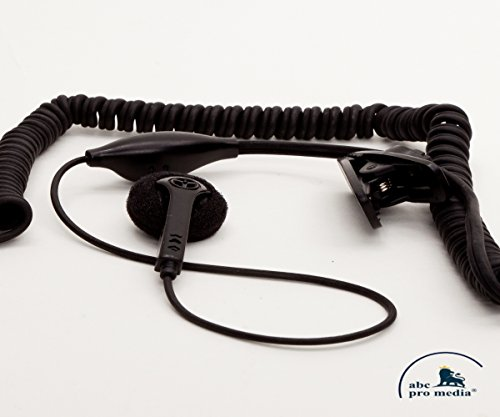 abc promedia®, Freisprecheinrichtung, Headset in-ear mit Micro und Clip für Samsung SGH-E710 / SGH-E810 / SGH-P510 / SGH-S300, 2 Stück Bonus-Pack