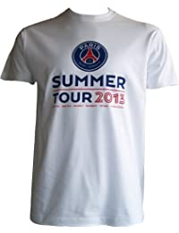 T-shirt PSG - Summer Tour 2013 - Collection officielle PARIS SAINT GERMAIN - Football club - match contre Le Real Madrid Naples Bordeaux - Taille enfant garçon