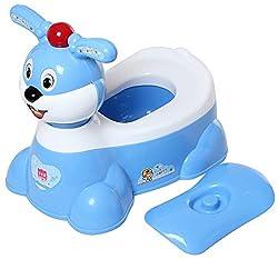 A + B Musical Baby Potty(closestool)-Rabbit- Blue