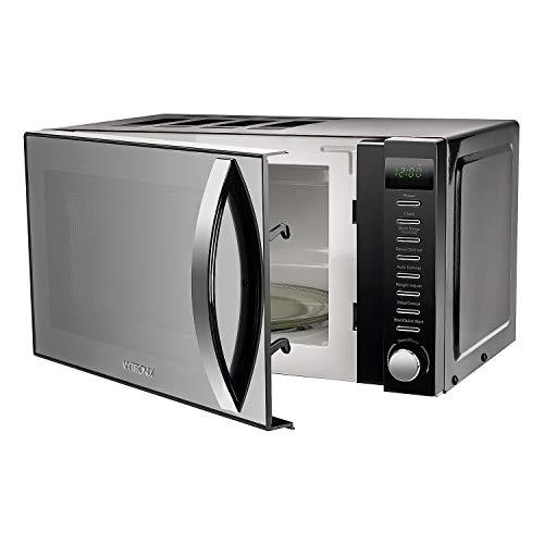 41kdkJ6hOJL. SS500  - VYTRONIX VY-HMO800 Digital Microwave Oven 800W 20L 5 Power Levels Freestanding Solo Black