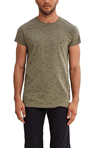 edc by Esprit, T-Shirt Uomo Verde (Khaki Green)