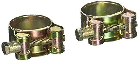 sourcingmap® 29-31mm Métal T fileté en laiton raccord de flexible Turbo Tone 2pcs