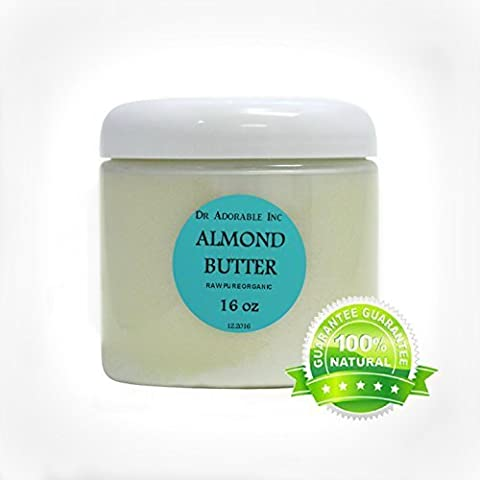 Almond Butter Pure Organic 1 Lb/ 16 Oz