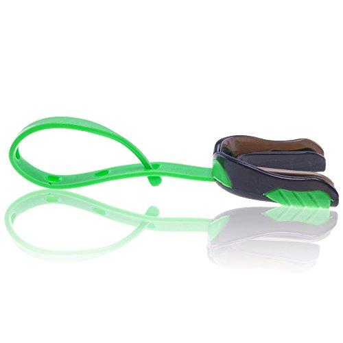 Full Force Wear Mundschutz High Pro mit Helmbefestigung, grün/schwarz, Senior, one size