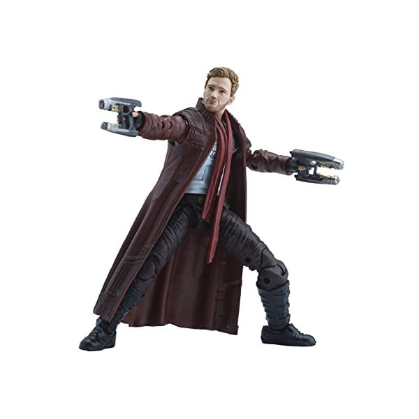 Marvel Guardianes de la Galaxy Leyendas Series Star-Lord, 15,2 cm 4