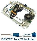 Neu - Sony PS3 Laser + Rahmen (KES-450D/KES-450DAA/KEM-450D/KEM-450DAA) + Nextec Torx T8 Security Schraubendreher