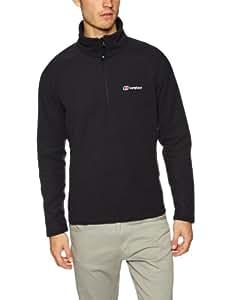 Berghaus Spectrum Men's Half Zip Fleece - Black, Large