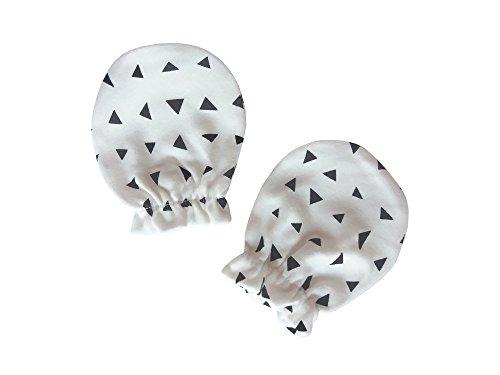 Need4Baby Baby Handschuhe Kratzfäustlinge 0-8 M Motiv: Dreieck