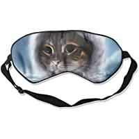 Animals Cat Painting Sleep Eyes Masks - Comfortable Sleeping Mask Eye Cover For Travelling Night Noon Nap Mediation... preisvergleich bei billige-tabletten.eu