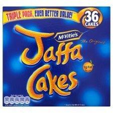 Le Jaffa De Mcvitie Agglomère Paquet Triple 36 Par Paquet