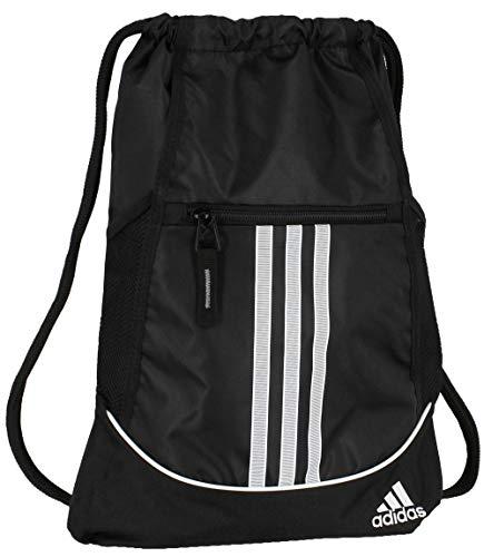 adidas Alliance II Sackpack, Herren, schwarz, Einheitsgröße