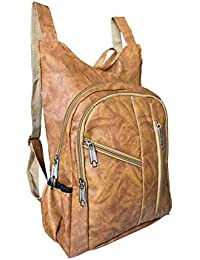 91f183c6cd92 SEPAL Premium Quality Leather Casual Backpack Bag Specially Design For  Girls and Women Brown