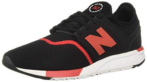 Sneaker New Balance New Balance MRL247GR - Zapatillas para Hombre Negro y Rojo 39.5 EU